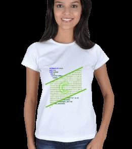 E.Ç. TASARIM - C PROGRAMCI Kadın Tişört