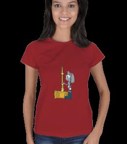 treepwood - cartoon Kadın Tişört
