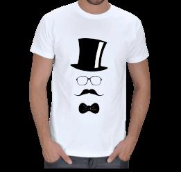 MY - Centilmen Tasarımlı Erkek Tişört