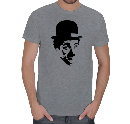 mc - Charlie Chaplin - [1] Erkek Tişört