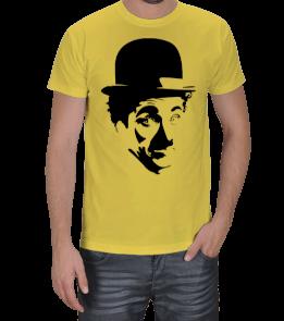 KralTişört - Charlie Chaplin Erkek Tişört