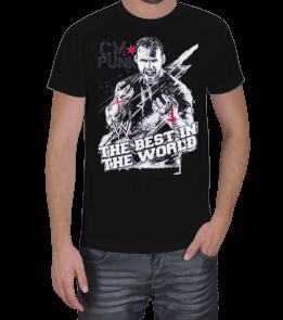 Güreş Market - CM Punk The Best in The World Erkek Tişört