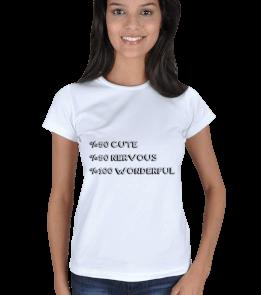 Cm-Art - CNW Kişilik Kadın Tişört