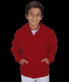 Tisho - Çocuk Kapüşonlu Hoodie Fermuarlı