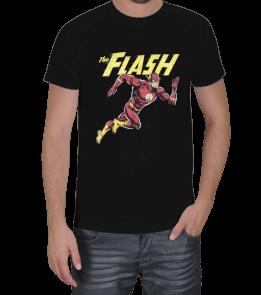 Turuncu Oda Tasarım - DC | The Flash Baskılı Erkek Tişört