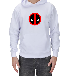 HASAN GENÇAY - Deadpool Erkek Kapşonlu