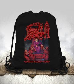 Death Büzgülü spor çanta