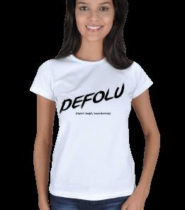 ozanbugra - Defolu Kadın Tişört