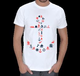 Armoni - Denizci, Çapa Erkek Tişört