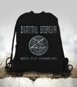 mk1500spor - Dimmu Borgir Büzgülü spor çanta