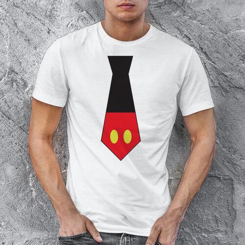 Disney Temalı Erkek Tişört - Tekli Kombin