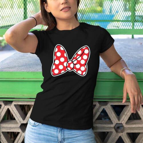 Disney Temalı Kadın Tişört - Tekli Kombin