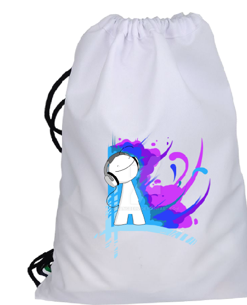 Cons T - DJ - Color Style Büzgülü spor çanta