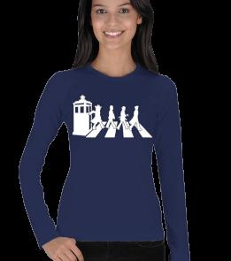 Doctor Whovian - Doctor Who-4 Doctors Kadın Uzun Kol