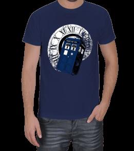 Turuncu Oda Tasarım - Doctor Who Baskılı Erkek Tişört