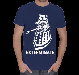 Eğlence Dünyası - Doctor Who Dalek Exterminate Erkek Tişört