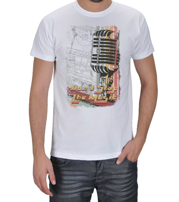 CNL Style - Dont Stop the Music Erkek Tişört
