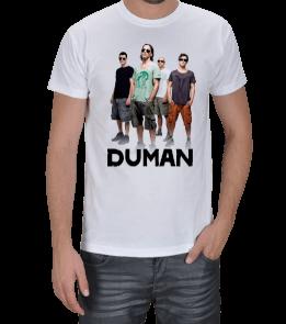 Chimonto Artz - Duman Resimli ve Yazılı Erkek Tişört