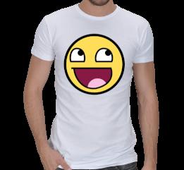 Efsane - Efsane Spor Kesim Beyaz T-Shirt Erkek Spor Kesim