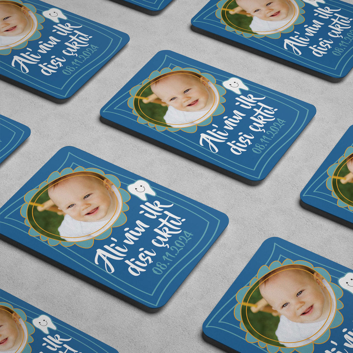 Erkek Bebek İçin İlk Diş Magneti