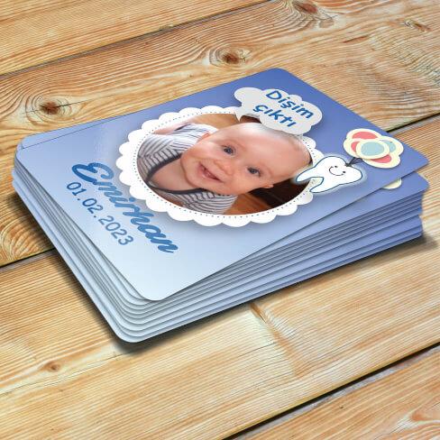 - Erkek Bebekler İçin Diş Buğdayı Magneti