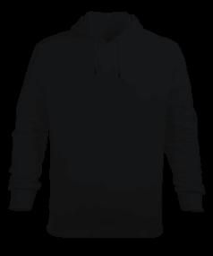 Erkek Kapüşonlu Hoodie Sweatshirt
