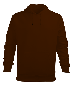 Erkek Kapüşonlu Hoodie Sweatshirt - Thumbnail
