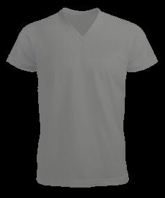 Tisho - Erkek Kısa Kol V Yaka Tişört