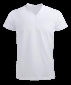 Erkek Kısa Kol V Yaka Tişört