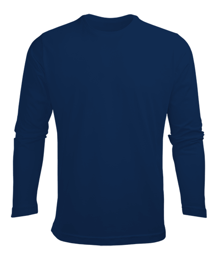 Erkek Uzun Kol Yazlık Tişört - Thumbnail