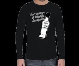Solak Avm - erkek uzun kollu tişört Erkek Uzun Kol
