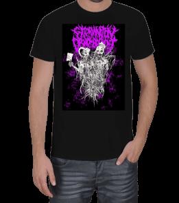 bloodlustmetalshop - Extermination Dismemberment Artwork Erkek Tişört