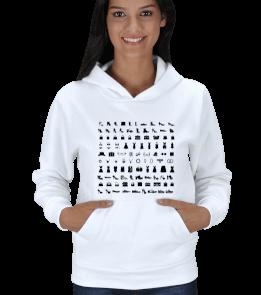 BeşÇeyrek Design - fashion icons Kadın Kapşonlu
