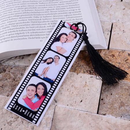 - Film Şeridi Kitap Ayracı