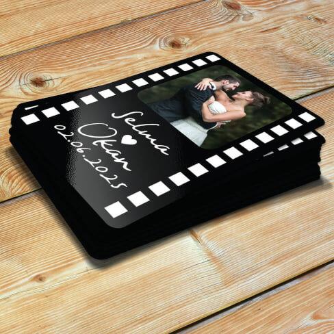 - Fotoğraflı Düğün - Nikah Magnetleri