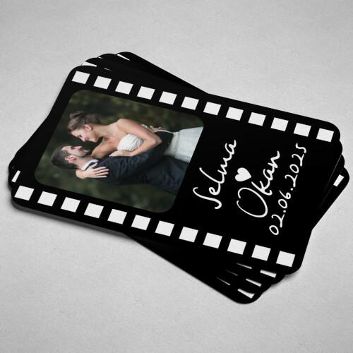 Fotoğraflı Düğün - Nikah Magnetleri - Thumbnail