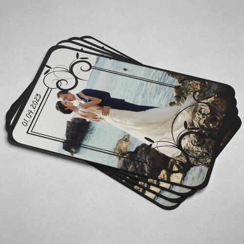 Fotoğraflı Düğün - Nişan Magnet Hediyeleri - Thumbnail
