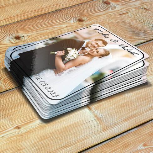 Fotoğraflı Düğün - Nişan Magnetleri