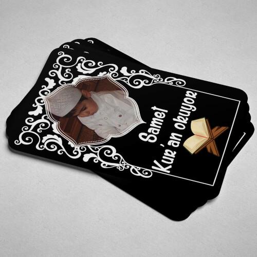 Fotoğraflı Kuran Okuyorum Magneti - Thumbnail