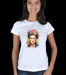 Ms Art Tasarım - frida 02 Kadın Tişört