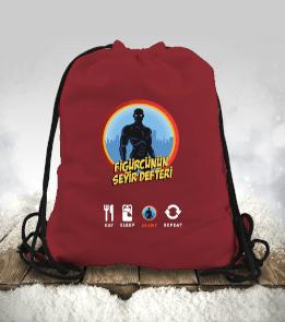 figurcununseyirdefteri - FSD Bez Çanta Büzgülü spor çanta