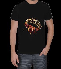 Turuncu Oda Tasarım - Game of thrones Baskılı Erkek Tişört