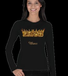 Game of Thrones Crown -K Kadın Uzun Kol