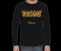 Tasarım Atölyesi - Game of Thrones Crown -Uzun Erkek Uzun Kol