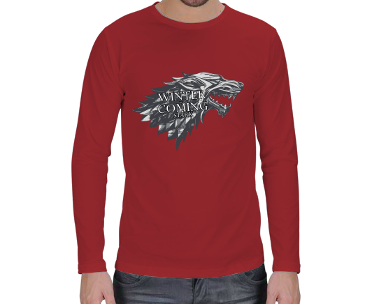ADF T-shirt - Game Of Thrones Erkek Uzun Kol