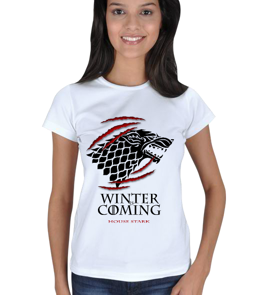 Game of Thrones Kadın Tişört