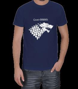 Game Of Thrones Lacivert Tişört Erkek Tişört