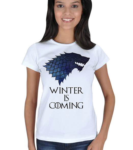 MyTshirt - Game of thrones tişört Kadın Tişört