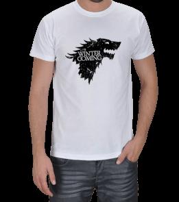 Tişörtcü Yusuf - Game Of Thrones Winter is Coming Erkek Tişört