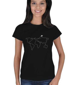 1sanat1kare - gezgin Kadın Tişört